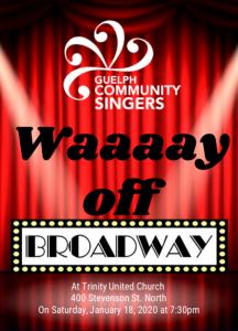 GCS Waaaay off Broadway